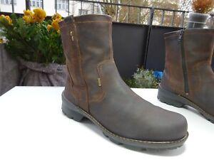 ECCO Gore-TEX XL-Extralight Schuhe Stiefeletten Leder Braun Gr.38 f.Neuw
