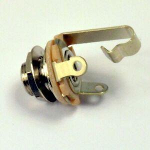"Switchcraft 1/4"" Mono Electric Guitar Jack Socket"