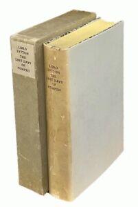 Edward Bulwer Lytton: The Last Days of Pompeii LIMITED EDITIONS CLUB (1956)
