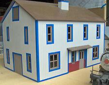 VIRGINIA MILLS GRAIN G 1:24 Model Railroad Styrene Unpainted Structure Kit CMS29