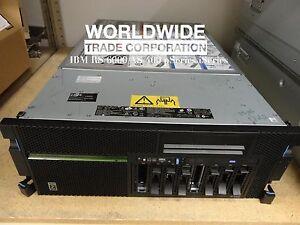 IBM 8204-E8A P550 8-Core P6 4.2GHz 32GB Mem 2x146GB HDD (AIX) PowerVM Enterprise