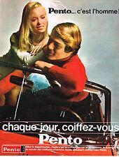 publicité advertising Pento    soins capillaires