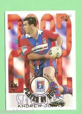 2003 RUGBY LEAGUE CARD - CP7 ANDREW JOHNS, NEWCASTLE KNIGHTS