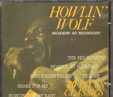 Howlin' Wolf NEW CD 20 Blues Classics MOANIN' AT MIDNIGHT Tell Me Spoonful