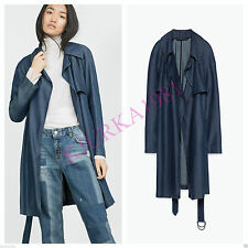 Zara Knee Patternless Coats & Jackets for Women