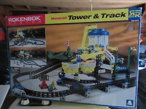Rokenbok Monorail Tower & Track set with tons extra