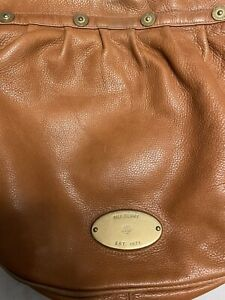 Mulberry Mitzi Tan leather, Shoulder bag, medium size.