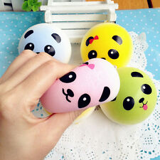 1pc Soft Panda Squishy Charms Buns Cell Phone Key Chain Soft Bread Cute Straps