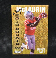 2019 SAGE Hit Premier Draft Terry McLaurin RC Ohio State Rookie #13