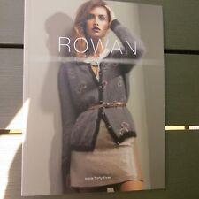Rowan Studio Issue 33 - Pattern Book - Contemporary Designs
