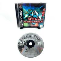 Ball Breakers (PlayStation 1, 2000) PS1 Complete Tested Free Shipping CIB