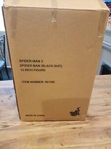 Hot Toys Black Suit Spiderman Accessories.