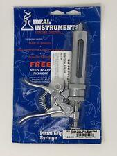 Ideal Instruments 1000C 50cc Mega-Shot Pistol Grip Livestock Syringe New/Old Stk