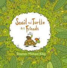 Snail and Turtle are Friends by Stephen Michael King Children's Picture Book NEW
