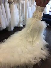 New women dress formal wedding Gowns Ivory Mermaid size 2-4-6