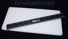 Poly Board For Hole Punching, Cutting, Tooling Leather Etc With Ruler