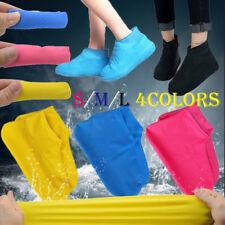 1Pair  neue wasserdicht zubehör auf latex - regen - schuhe gummi boot überschuhe