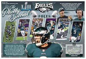"""EAGLES """"PHILLY SPECIAL"""" IN THE 2017 SUPER BOWL 19x13 COMMEMORATIVE POSTER"""