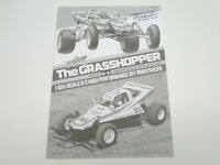 NEW TAMIYA GRASSHOPPER Manual Parts Guide TG0