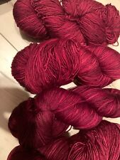 New listing Pagewood Farm Glacier Bay Yarn in cape cove cranberry