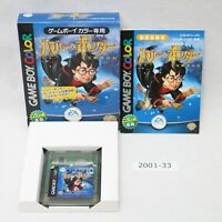 Nintendo Gameboy Harry Potter And The Sorcerer's Stone box working 2001-033
