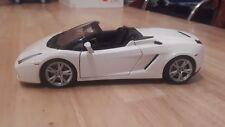 Maisto 1:18 Lamborghini Gallardo Spyder - White