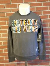 '47 Detroit Red Wings Long Sleeve Crewneck Sweatshirt Mens Large New w/ Tags NWT