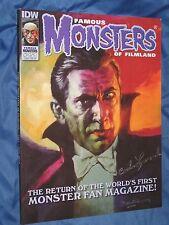 FAMOUS MONSTERS #251 Signed Dracula Magazine by Carla Laemmle BELA LUGOSI