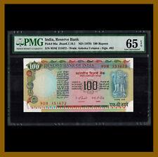 India 100 Rupees, 1979 P-86a Sign. #82 PMG 65 EPQ Unc