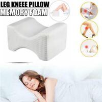 Contour Leg Wedge Knee Pillow Memory Foam Hip Cushion Back Pain Relief Sleeping
