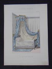 LA TENTURE FRANÇAISE 1904 - Lit de coin Louis XVI - ameublement décoration 116
