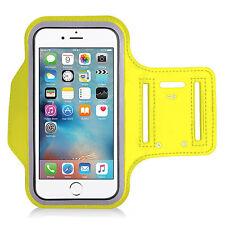 IPod Touch Premium NEOPRENE Fascia Braccio GIALLA 4th,5 th,6 th generazione in esecuzione