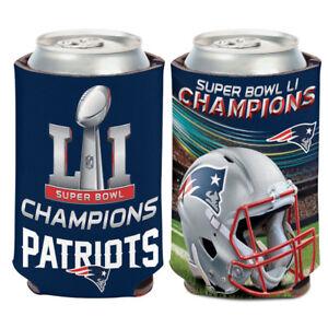 New England Patriots Super Bowl LI Champions Can Cooler 12 oz. Koozie
