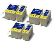 3x Black & 3x Colour Compatible (non-OEM) Ink Cartridges to replace T007 & T008
