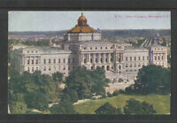 1910s LIBRARY OF CONGRESS WASHINGTON DC POSTCARD # Z 102