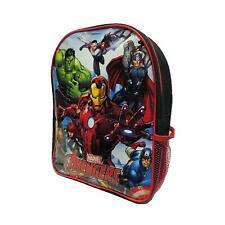 Enfants Officiel marvel Avengers École Sac à Dos avec Maille Poche Latérale