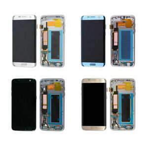 OLED Display For Samsung Galaxy S7 Edge G935F LCD Touch Screen Replacement+Frame