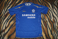 Rare Chelsea London 2005/06 HOME  UMBRO M medium CENTENARY shirt jersey