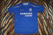 Rare Chelsea London 2005/06 HOME  UMBRO M medium CENTENARY shirt jersey