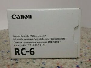 Genuine CANON Wireless Remote RC-6 for T5i T4i T3i T2i 700D 70D 60D 5D Mark III