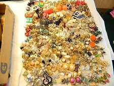 200+ Pairs Clip-on Vintage Modern Earrings Lot Haskell Weiss Juliana Vogue Spain