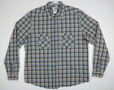 Lacoste Button up Long Sleeve Shirt Mens Size 45 Moderen Fit Plaid