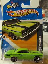 Hot Wheels '70 Plymouth Road Runner Muscle Mania Green