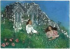 MARGARET E. Z. LEVINSON Signed Aquatint Etching THE SPIRITS OF ROMANCE
