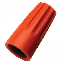 Ideal 30-273 Wire-Nut Wire Connector, Model 73B, Orange, 500/bag