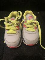 Baby Nike Air Max Sneakers Gray Pink