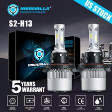 H13 LED Headlight Bulbs For Ford F150 2004-2014 F-250 F-350 Super Duty 2005-2020