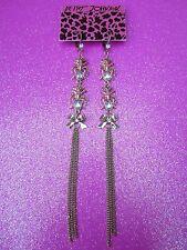 Betsey Johnson Ant Dangle Earrings 5 Inch Drop