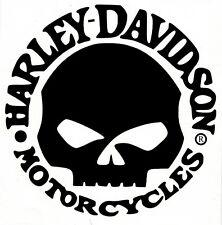 Classic Skull Motocross Motorcycle Bike Shield Inside Window Glass Decal Sticker