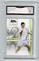 2007 Novak Djokovic Ace Authentic Rookie Gem Mint 10 #16